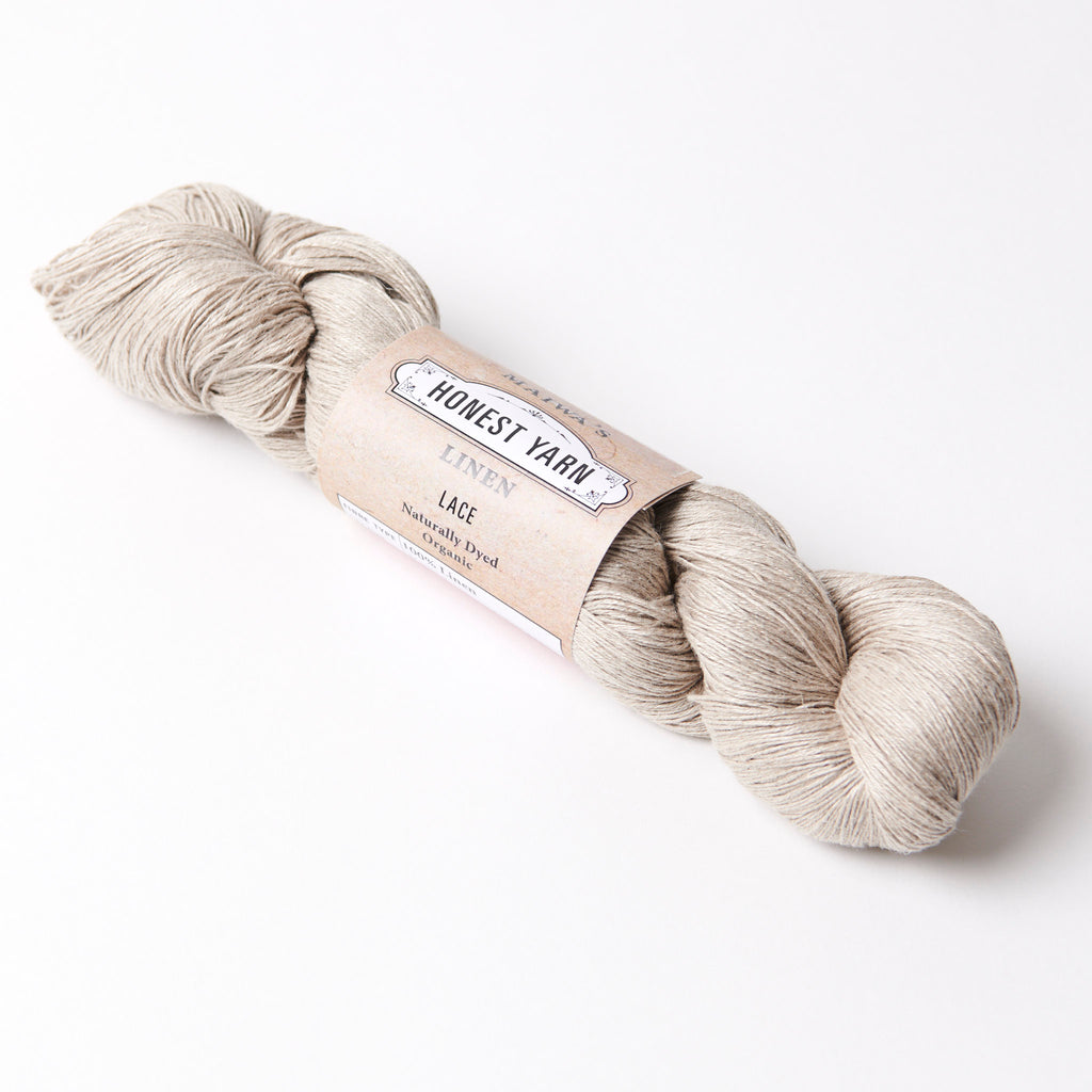 Honest Yarn Blank - Linen Lace / Natural