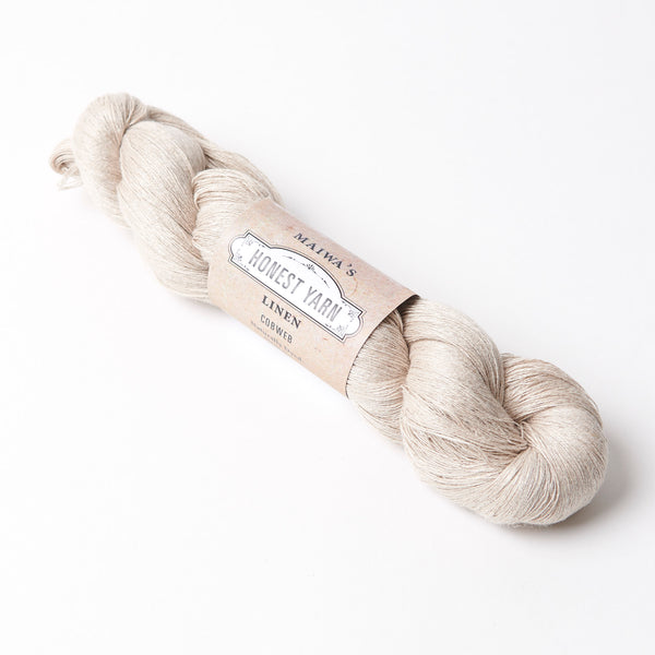 Honest Yarn Blank - Linen Cobweb / Natural