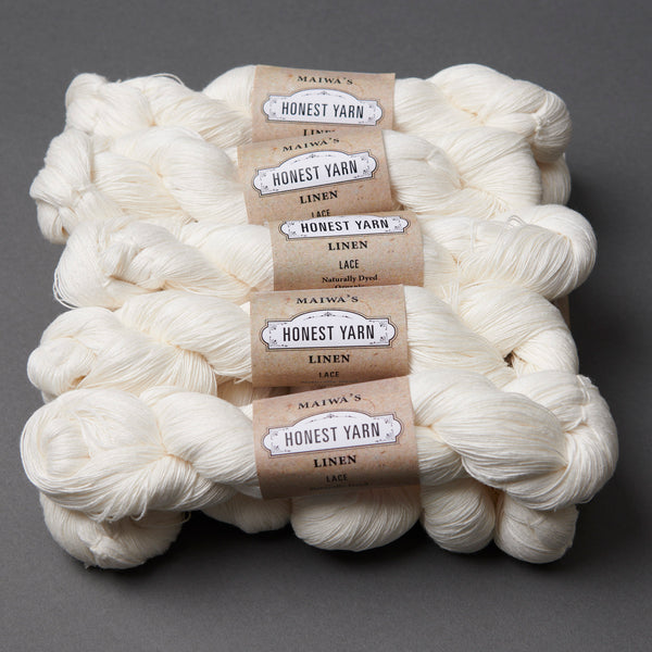 Honest Yarn Blank - Linen Lace / White - 10 pack