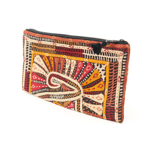 Kachchh Embroidery - Clutch - Dhebaria Pattern 9