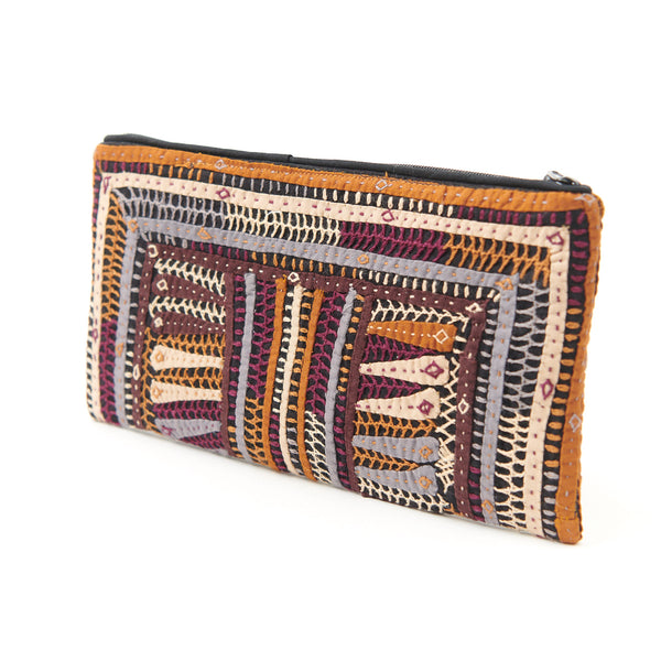 Kachchh Embroidery - Clutch - Dhebaria Pattern 5
