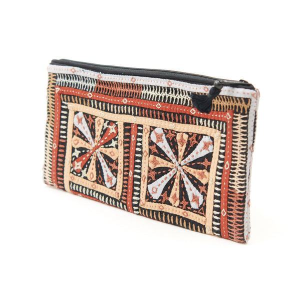Kachchh Embroidery - Clutch - Dhebaria Pattern 7