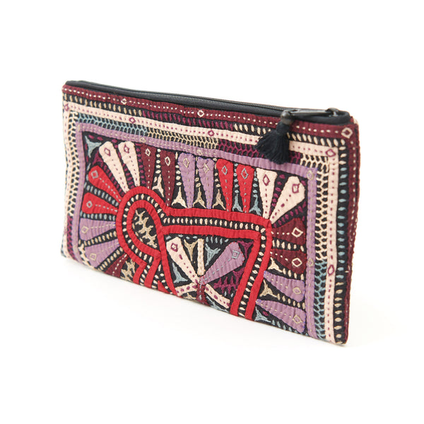 Kachchh Embroidery - Clutch - Dhebaria Pattern 8