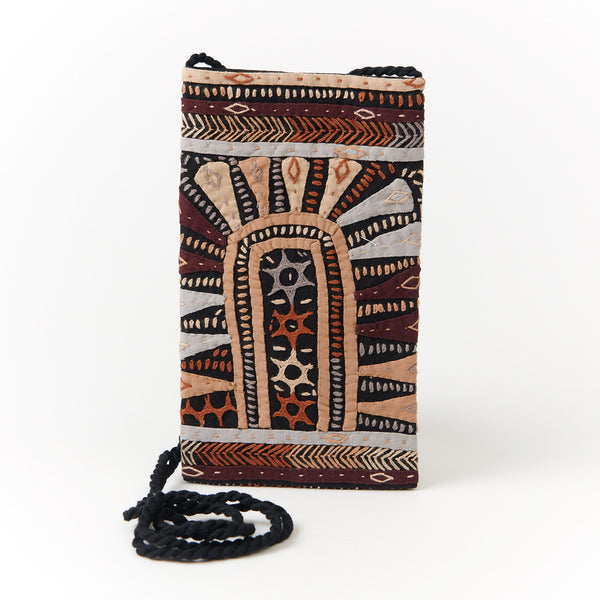 Kachchh Embroidery - Phone Pouch - Dhebaria Pattern E