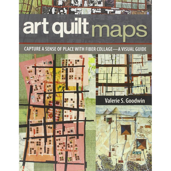Art Quilt Maps by Valerie Goodwin