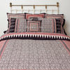 Organic Cotton King Duvet - Bagh Print - Stylized Paisley