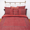 Organic Cotton Queen Sheet - Ajrakh Madder