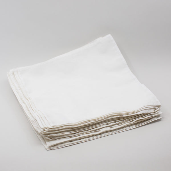 Handkerchiefs - Organic Cotton (50 pack)