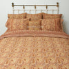 Organic Cotton Queen Sheet - Kalamkari - Desert Blossom