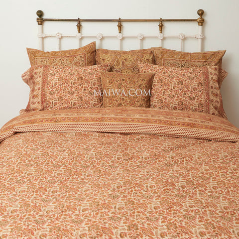 Organic Cotton King Duvet - Desert Flower