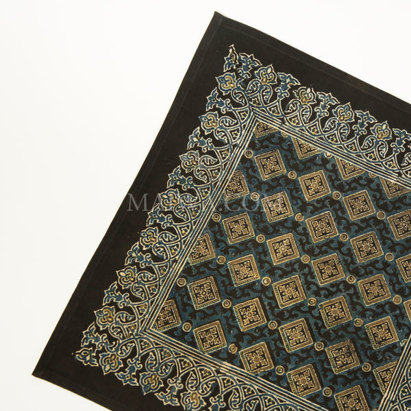 Organic Cotton Napkin - Ajrakh Diamond