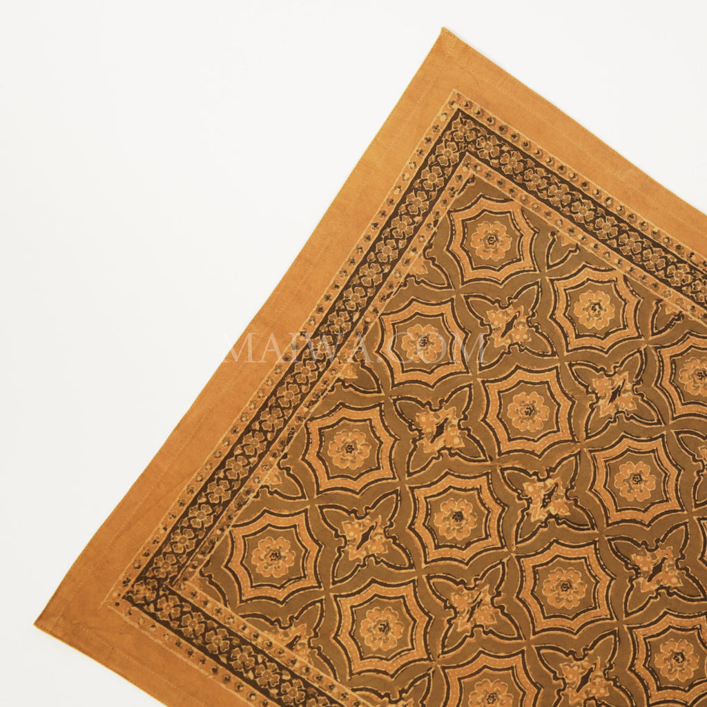 Organic Cotton Napkin - Ajrakh Tile