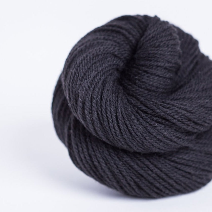 Brookly Tweed Porter Black Arbor 3-ply wool DK weight yarn, worsted spun American Targhee