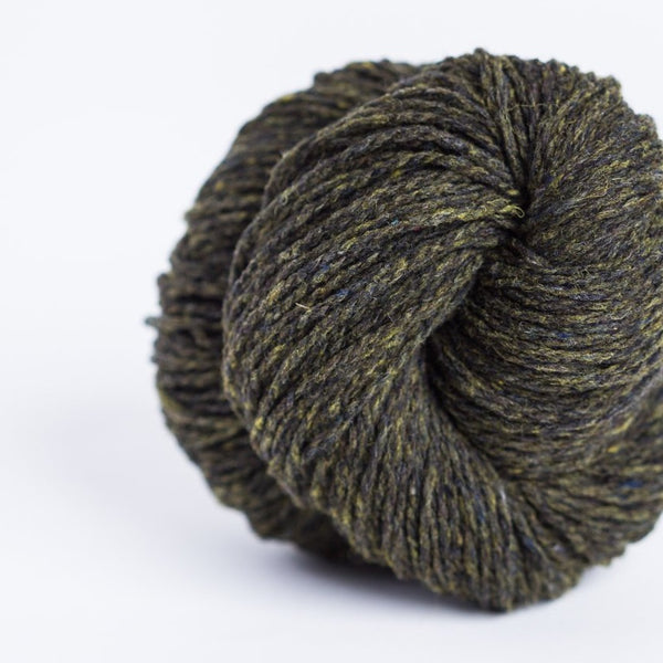 Brooklyn Tweed Artifact 2-ply fingering weight yarn, wool spun from Targhee-Columbia wool