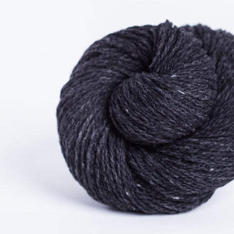 Brooklyn Tweed Cast Iron 2-ply fingering weight yarn, wool spun from Targhee-Columbia wool