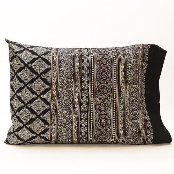 Pillow Case Ajrakh Print 12