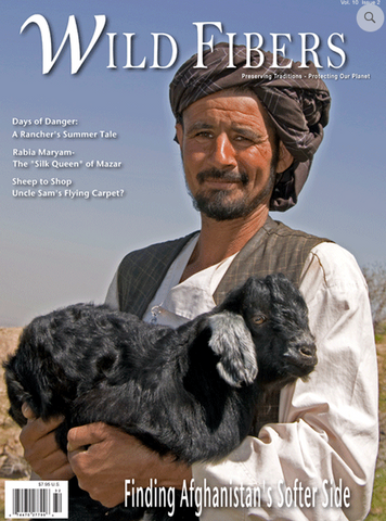 Wild Fibers Magazine Volume 10 - Issue 2