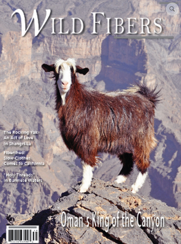 Wild Fibers Magazine Volume 10 - Issue 1
