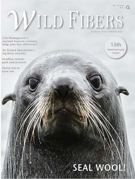 Wild Fibers Magazine - 15th Anniversary Issue