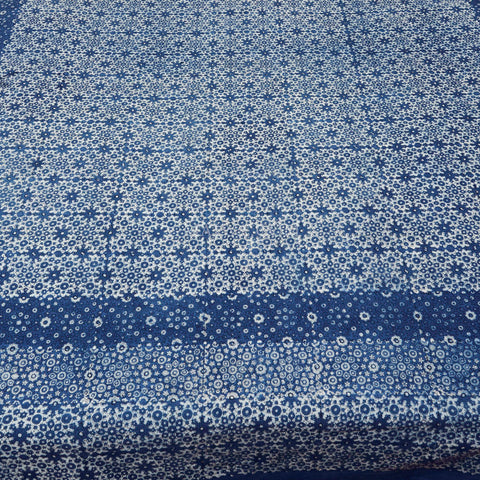 Organic Cotton Rectangular Tablecloth - Ajrakh Crystallized