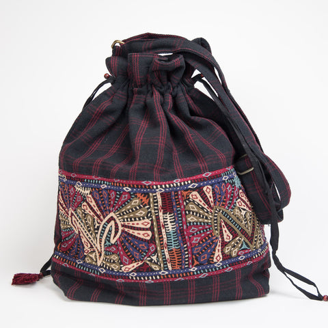 Dhebaria Drawstring Cinch Bag - Pattern 4