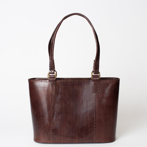 Leather Walkabout Bag Medium - Brown