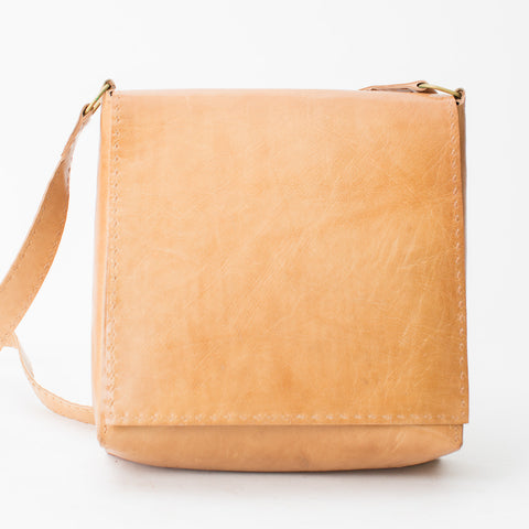 Leather Workday Bag Medium - Tan