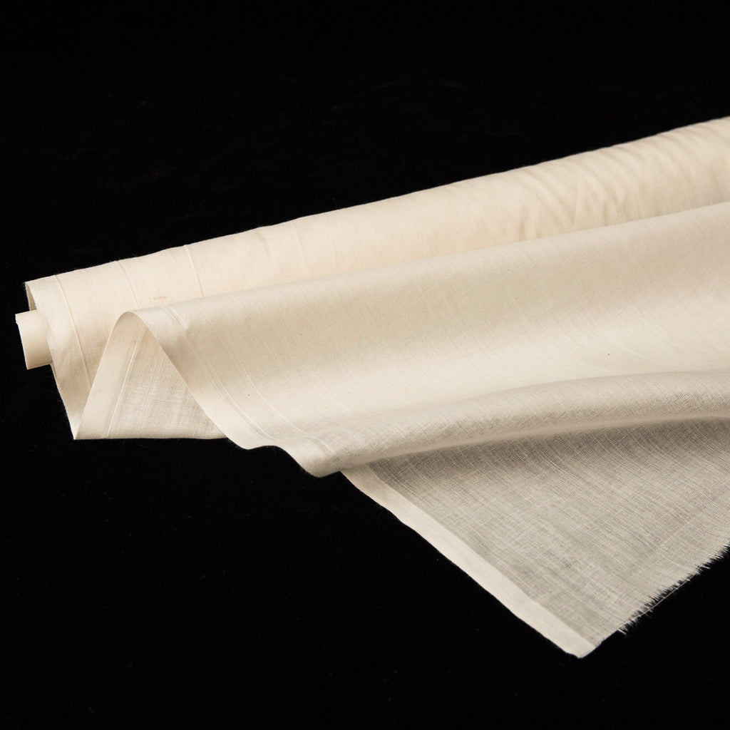 Fabric - Cotton Organic Mull / Voile - Natural