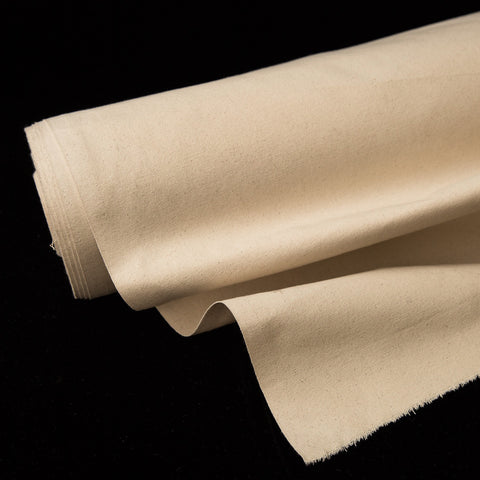 **Sample** - Cotton Organic Canvas Natural