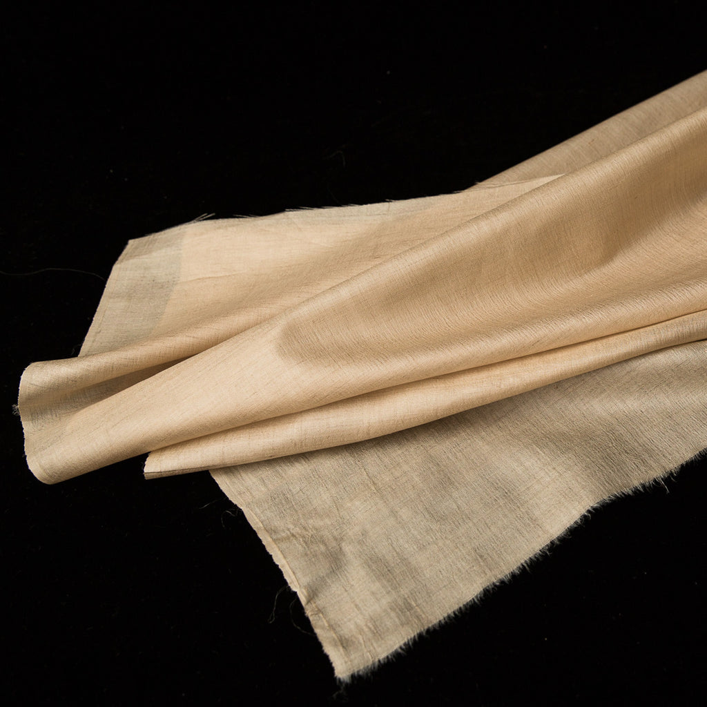 Fabric - Silk Fine Tussar Handwoven