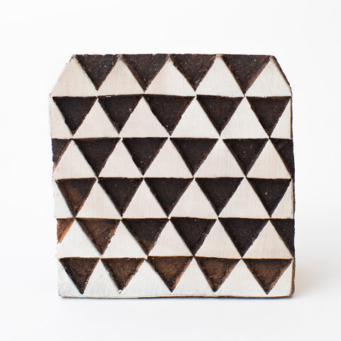 Wood Block - Triangles