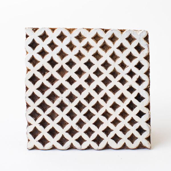 Wood Block - Lattice