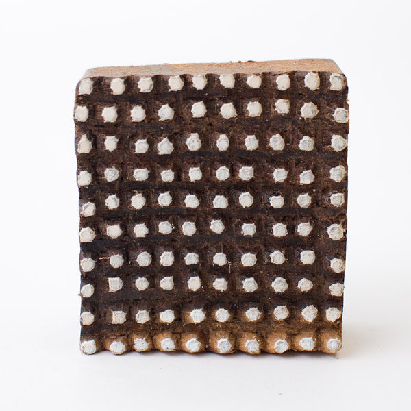 Wood Block - Small Dots