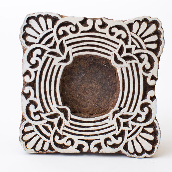 Wood Block - Ornate Circle