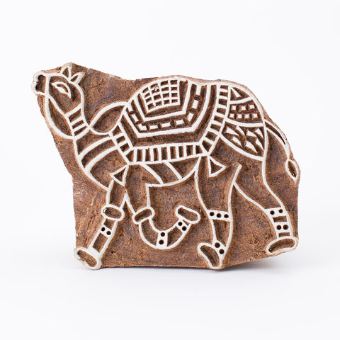 Wood Block - Camel