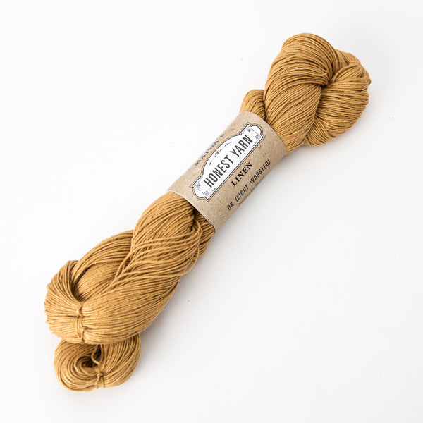 Honest Yarn - Organic Linen / DK / Honey