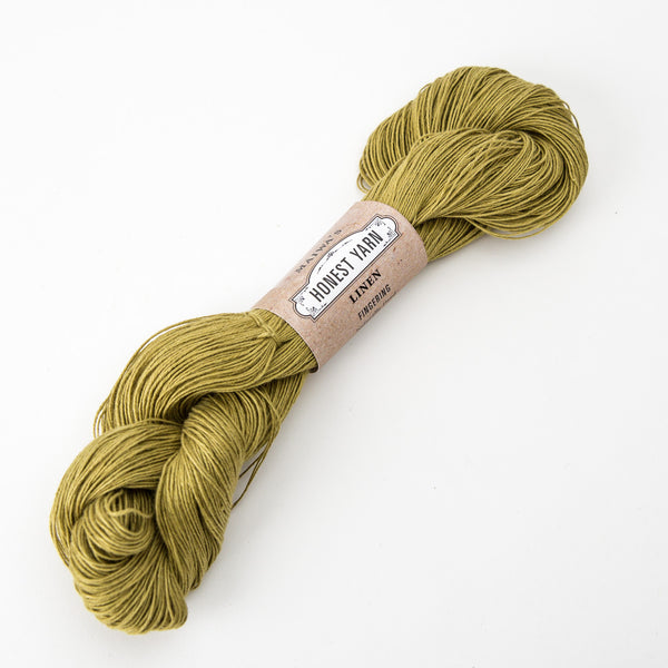 Honest Yarn - Organic Linen / Fingering / New Leaf