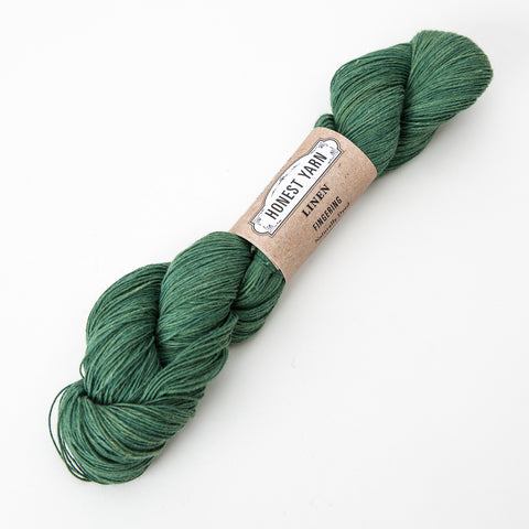 Honest Yarn - Organic Linen / Fingering / Teal