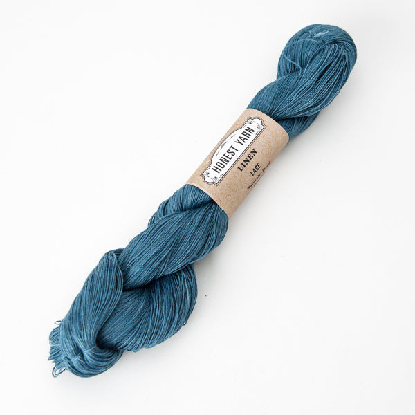 Honest Yarn - Organic Linen / Lace / Light Indigo