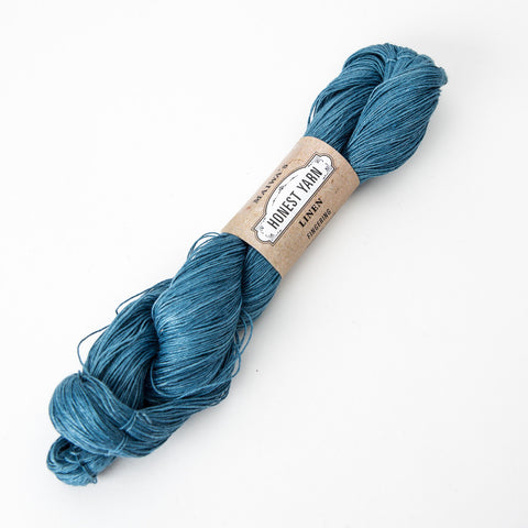 Honest Yarn - Organic Linen / Fingering / Light Indigo
