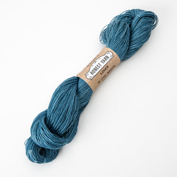 Honest Yarn - Organic Linen / DK / Light Indigo