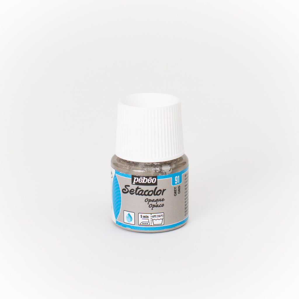 Setacolor Opaque 45 ml Grey 91