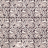 Organic Cotton King Sheet - Bagh Print - Stylized Paisley