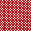 Organic Cotton Rectangular Tablecloth - Red & White Dot