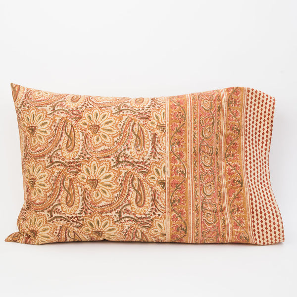 Organic Cotton Pillow Case - Desert Blossom