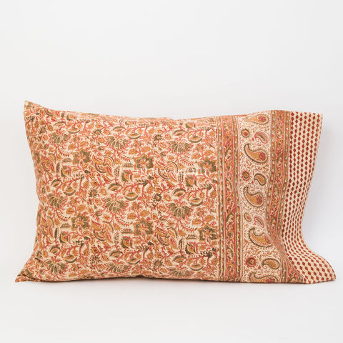 Organic Cotton Pillow Case - Desert Flower