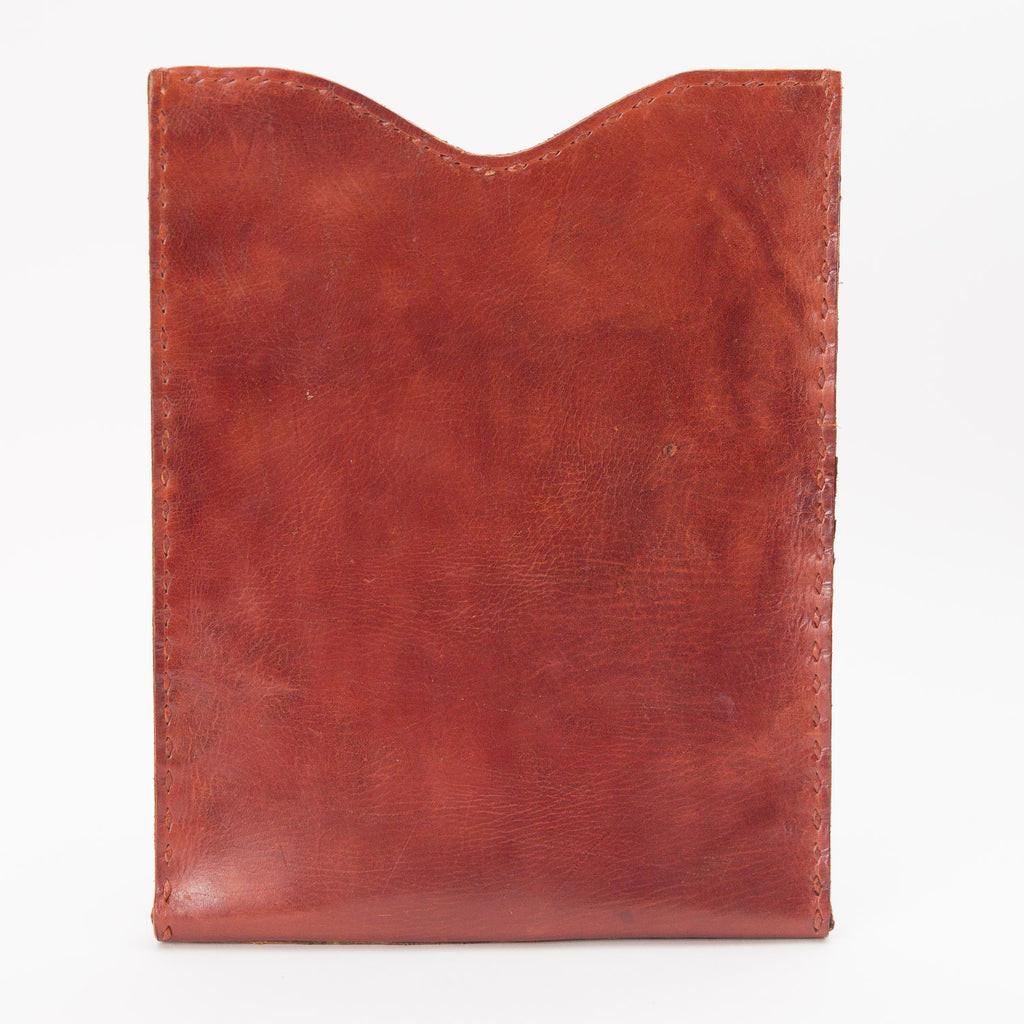 Leather iPod or Tablet Case - Red