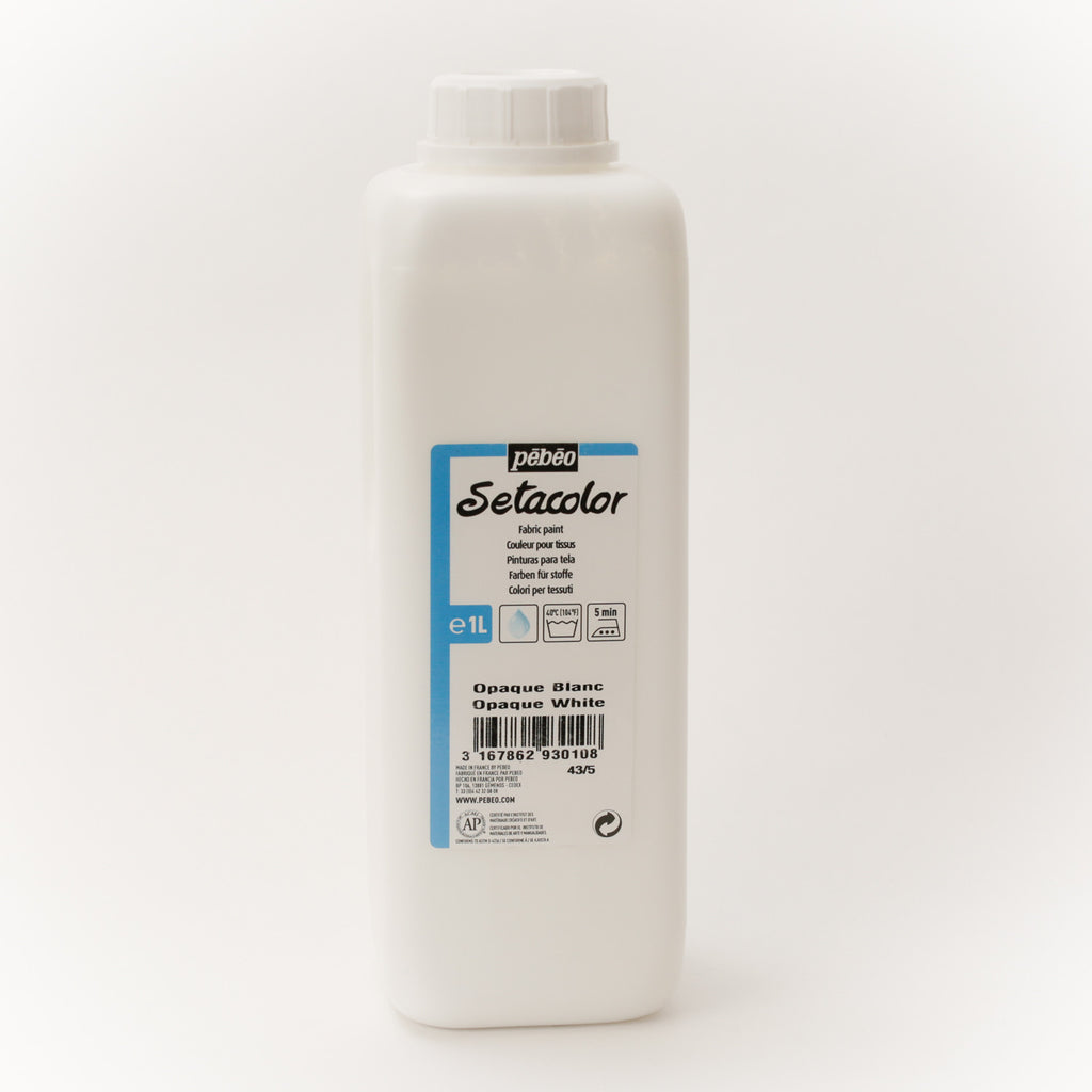 Setacolor Opaque 1000 ml White 10