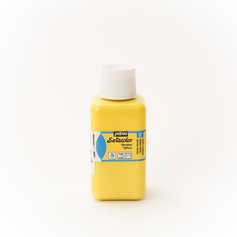Setacolor Opaque 250 ml Lemon Yellow 17