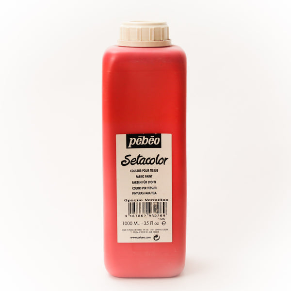 Setacolor Opaque 1000 ml Vermillion 26